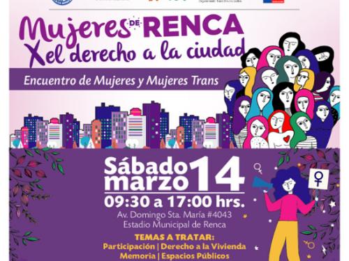 Encuentro de mujeres y mujeres trans por el derecho a la ciudad